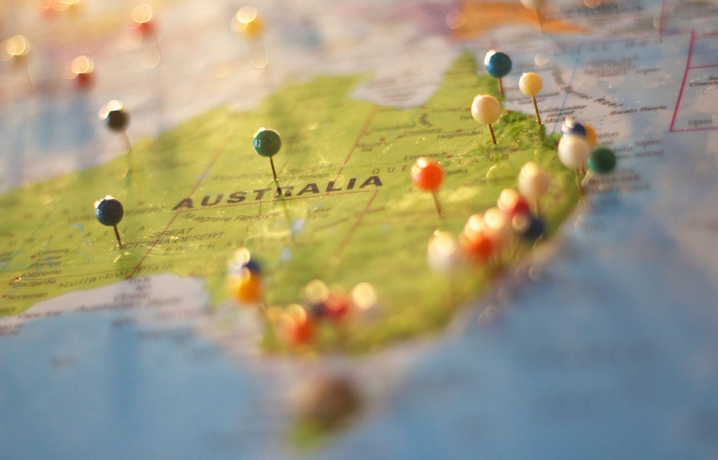 How can overseas investors buy shares in Australia on the ASX?